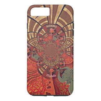 Funda Para iPhone 8 Plus/7 Plus Diseño animal de Hakuna Matata de la jirafa