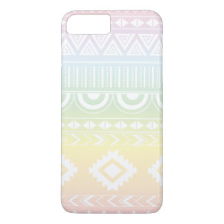 Funda Para iPhone 8 Plus/7 Plus Diseño azteca Phonecase del arco iris en colores