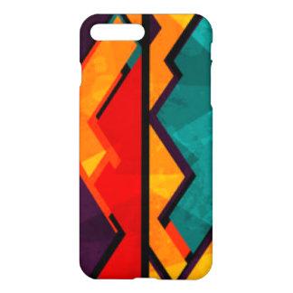 Funda Para iPhone 8 Plus/7 Plus Diseño coloreado multi africano de la impresión
