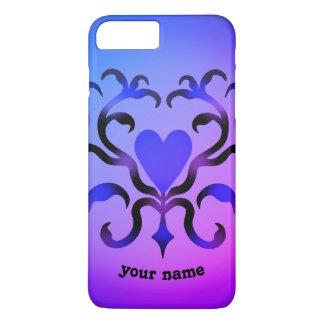 Funda Para iPhone 8 Plus/7 Plus Diseño de lujo del corazón
