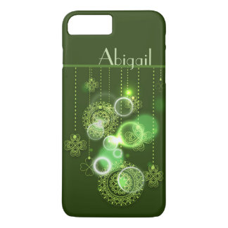 Funda Para iPhone 8 Plus/7 Plus Diseño irlandés personalizado hermoso del trébol