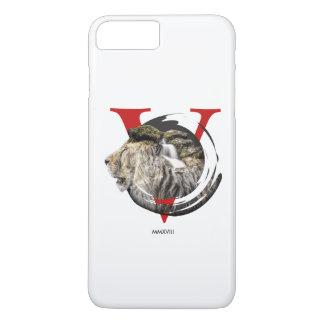 Funda Para iPhone 8 Plus/7 Plus Diseño majestuoso personalizado del león y de la