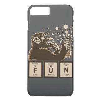 Funda Para iPhone 8 Plus/7 Plus Diversión descubierta mono de la química