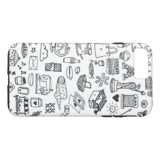 Funda Para iPhone 8 Plus/7 Plus Doodle loco