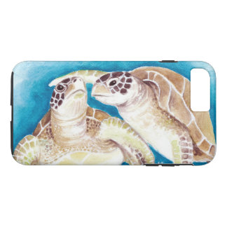 Funda Para iPhone 8 Plus/7 Plus Dos tortugas de mar