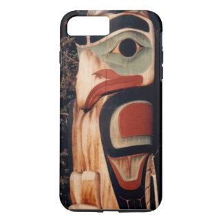 Funda Para iPhone 8 Plus/7 Plus El Alaskan talló el tótem diseñado