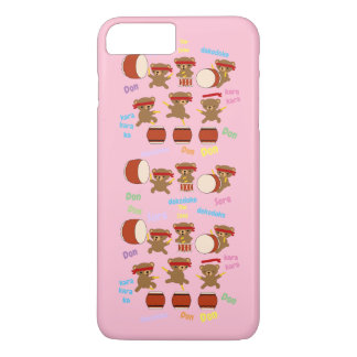 Funda Para iPhone 8 Plus/7 Plus El caso Kawaii lindo del iphone de Taiko lleva al