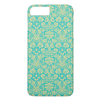 Funda Para iPhone 8 Plus/7 Plus El damasco francés, ornamentos, remolina - oro