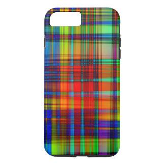 Funda Para iPhone 8 Plus/7 Plus El extracto colorido raya arte