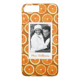 Funda Para iPhone 8 Plus/7 Plus El modelo anaranjado el | de la rebanada añade su