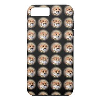 Funda Para iPhone 8 Plus/7 Plus El rasgón precioso del guepardo del infinito marca