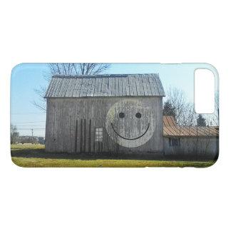 Funda Para iPhone 8 Plus/7 Plus El teléfono encajona el granero sonriente