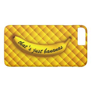 Funda Para iPhone 8 Plus/7 Plus Ése es apenas el iPhone 7 de los plátanos