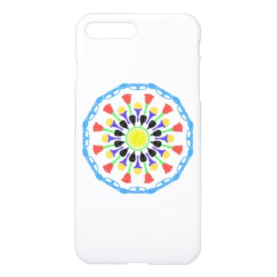 Funda Para iPhone 8 Plus/7 Plus Estampado de plores abstracto