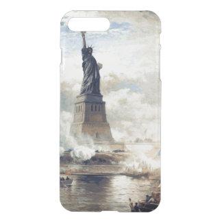 Funda Para iPhone 8 Plus/7 Plus Estatua de la libertad que revela 1886