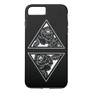 Funda Para iPhone 8 Plus/7 Plus Estuche rígido floral geométrico