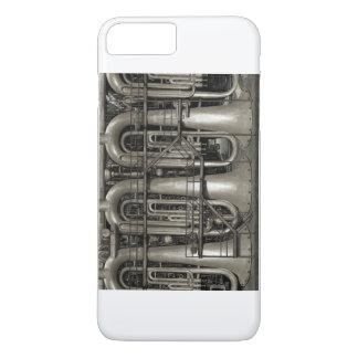 Funda Para iPhone 8 Plus/7 Plus Fábrica de la música de Steampunk