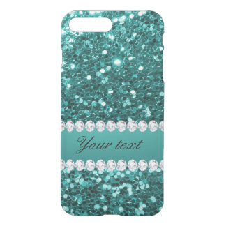 Funda Para iPhone 8 Plus/7 Plus Falso brillo y diamantes del trullo elegante