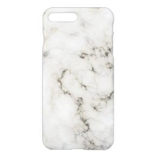 Funda Para iPhone 8 Plus/7 Plus Final de piedra de mármol de marfil del ébano