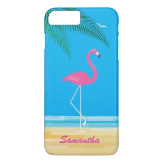Funda Para iPhone 8 Plus/7 Plus Flamenco rosado en el caso más del iPhone 7 de la