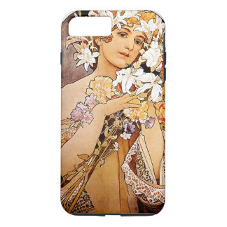Funda Para iPhone 8 Plus/7 Plus Flor de Alfonso Mucha