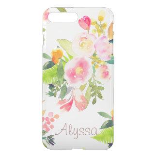 Funda Para iPhone 8 Plus/7 Plus Fondo de la primavera Bouquet/DIY de PixDezines