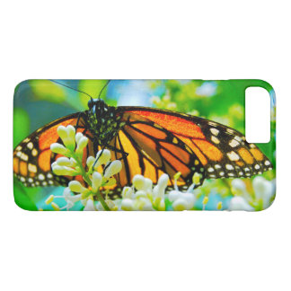 Funda Para iPhone 8 Plus/7 Plus Foto anaranjada linda, elegante del primer de la