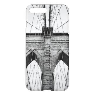 Funda Para iPhone 8 Plus/7 Plus Foto del primer de la foto del puente de Brooklyn