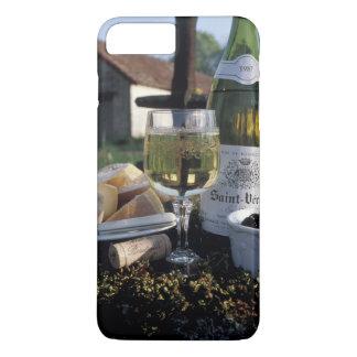 Funda Para iPhone 8 Plus/7 Plus Francia, Borgoña, Chablis. Vino local y