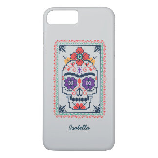 Funda Para iPhone 8 Plus/7 Plus Frida Kahlo el | Calavera