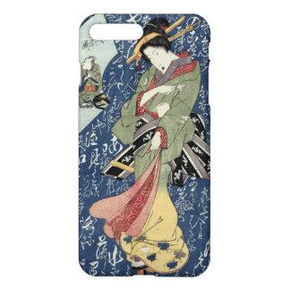 Funda Para iPhone 8 Plus/7 Plus Geisha de la impresión de Eisen Woodblock en