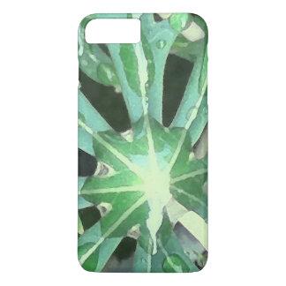 Funda Para iPhone 8 Plus/7 Plus Gotas de agua en las hojas