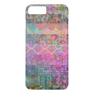 Funda Para iPhone 8 Plus/7 Plus Grunge abstracto bohemio de la acuarela bonita