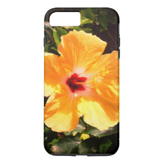 Funda Para iPhone 8 Plus/7 Plus Hibisco amarillo