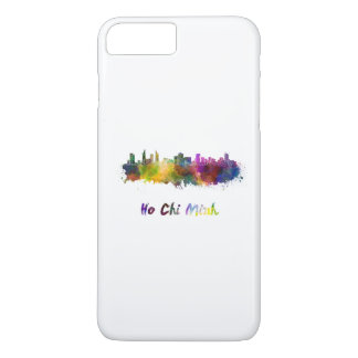 Funda Para iPhone 8 Plus/7 Plus Ho Chi Minh skyline in watercolor