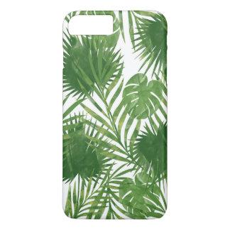 Funda Para iPhone 8 Plus/7 Plus Hojas tropicales