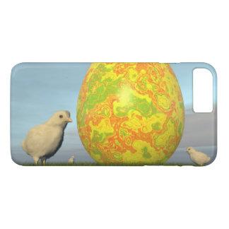 Funda Para iPhone 8 Plus/7 Plus Huevos coloridos para pascua - 3D rinden