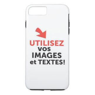 Funda Para iPhone 8 Plus/7 Plus Imprimir sus diseños en línea DIY en Francés