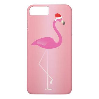 Funda Para iPhone 8 Plus/7 Plus iPhone 7 del flamenco del día de fiesta en rosa
