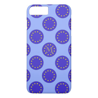 Funda Para iPhone 8 Plus/7 Plus iPhone adaptable 7 del monograma EU/Brexit+ Caso