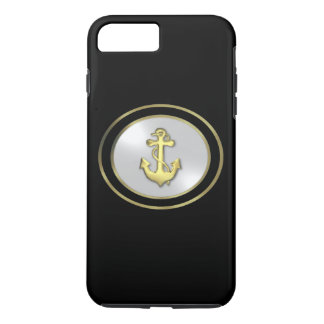 Funda Para iPhone 8 Plus/7 Plus iPhone del ancla del barco 8 Plus/7 más el caso