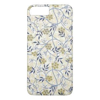 Funda Para iPhone 8 Plus/7 Plus iPhone X/8/7 del jazmín azul más el caso de Barely