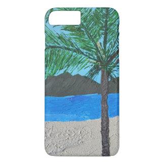Funda Para iPhone 8 Plus/7 Plus Isla tropical Barely There IPhone más el caso