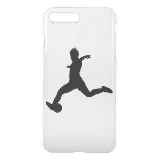 Funda Para iPhone 8 Plus/7 Plus Jugador de fútbol de la mujer