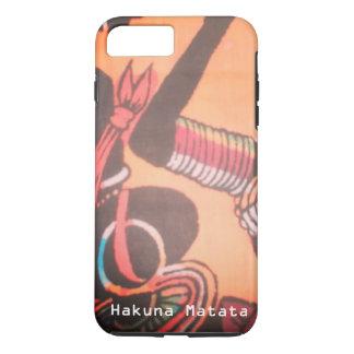 Funda Para iPhone 8 Plus/7 Plus Kenia precioso hermoso Maasai Hakuna Matata