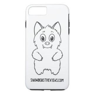 Funda Para iPhone 8 Plus/7 Plus La bestia de la nieve revisa la caja básica del