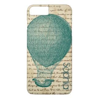 Funda Para iPhone 8 Plus/7 Plus La escritura del vintage del globo del aire