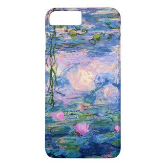 Funda Para iPhone 8 Plus/7 Plus Lirios de agua de Monet con reflexiones de la