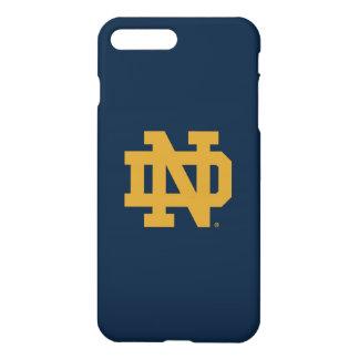Funda Para iPhone 8 Plus/7 Plus Logotipo del emblema de Notre Dame el |