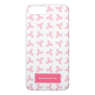 Funda Para iPhone 8 Plus/7 Plus Los hilanderos rosados de la persona agitada
